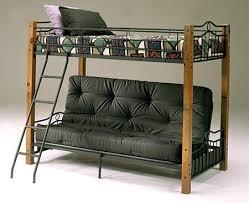 twin futon bunk bed for impressive rowland twin over futon bunk