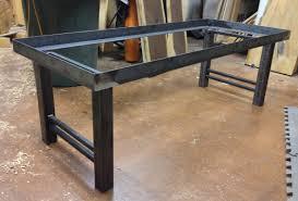 Steel Coffee Table Walnut And Steel Coffee Table U2013 Round Wood Studio