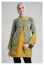 model baju 40 model baju batik atasan wanita terbaru 2018 desain modern