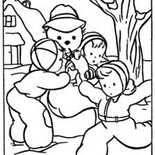 free winter coloring pages for kids all about coloring pages