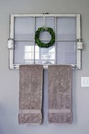 Towel Decoration For Bathroom by Best 20 Wooden Window Frames Ideas On Pinterest Old Window