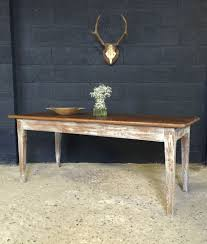 lovely antique french country farmhouse kitchen dining table in