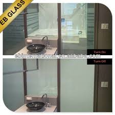 Smart Glass Shower Door Lcd Switchable Privacy Glass Smart Glass For Shower Door Buy