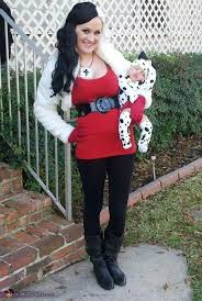 Mother Daughter Halloween Costume Dalmatian Puppy U0026 Cruella Vil Costume Mother Daughter