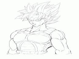 dragon ball z coloring pages bardock ssj theme examples best