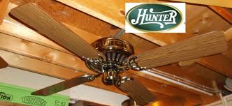 Low Height Ceiling Fan by Hunter Low Profile Ceiling Fan Correct Blades Remake Youtube