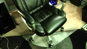 black leather desk chair office depot true innovations high back bonded leather chair model
