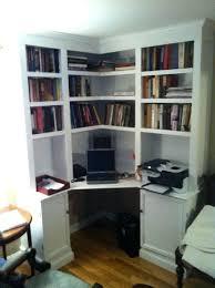 Small Desk With Bookcase Bookcase White White Corner Desk With Bookshelf White Corner