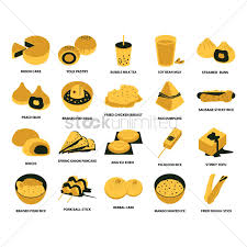 food vector collection of taiwan food vector image 2036230 stockunlimited
