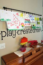 creative ways to display your children u0027s artwork