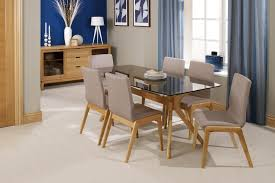 Glass Dining Table And 6 Chairs Emejing Dining Room Table With 6 Chairs Contemporary Liltigertoo