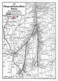 Chicago Railroad Map by C U0026ei