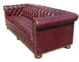 Vintage Chesterfield Leather Sofa Tufted Chesterfield Leather Chair Foter