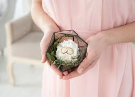 wedding rings in box wedding ring holder rings holder wedding ring box icosahedron ring