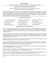 human resources resume exles of human resources resume