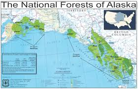 Hoonah Alaska Map by South Alaska Map Canada Map