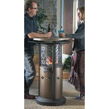 outdoor propane patio heaters outdoor leisure bistro table patio heater 152087 fire pits