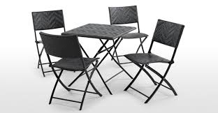 Outdoor Bistro Chairs Maui Outdoor 2 X Bistro Chairs Black Made Com