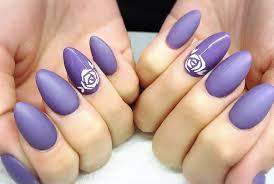 matte purple acrylic nails feat madam glam youtube