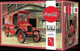 1 25 1923 coca cola ford model t delivery truck model kit by amt