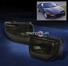 toyota mr2 fog lights 91 95 toyota mr2 bumper driving fog lights l kit smoke w bulb