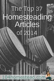 the top 37 homesteading articles of 2014