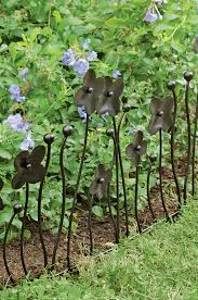 lovely idea keep dogs out garden garden border fencing