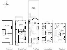 Brownstone Floor Plans | new york brownstone floor plans modify for california by putting