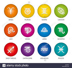 cancer colors zodiac astrological signs of the zodiac in rainbow colored gradients