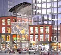 Td Garden Layout Bra Approves 950m Complex At Td Garden Back Bay High Rise The