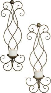 Silver Wall Sconce Candle Holder Best 25 Candle Wall Sconces Ideas On Pinterest Wall Candle