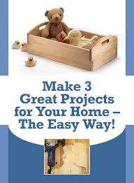 3 free easy woodworking projects for anyone