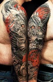 download upper arm dragon tattoo designs danielhuscroft com