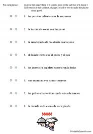 collection of solutions spanish vocabulary worksheets about