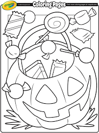 crayola halloween coloring pages www bloomscenter com