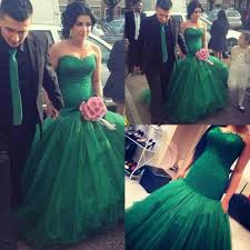 green wedding dress unique emerald green mermaid wedding dresses 2015 new style tulle