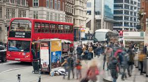 London Bus Interior Moving Interior Of London Bus Stop Button Stock Video Footage