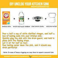 how to clean blocked sink deodorize kitchen sink drain ningxu