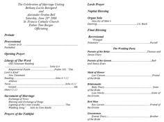 create a wedding program wedding programs wedding program wording program sles program