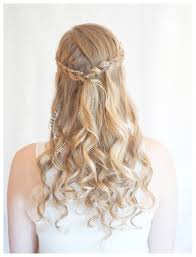 wedding long hairstyle half up popular long hairstyle idea