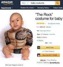 baby costume the rock costume for babies