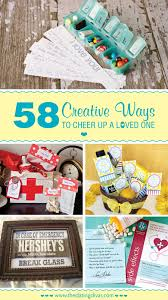 care package sick friend 58 easy creative ways to cheer up a loved one free