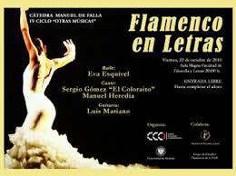 Secretaría General \u0026gt; La bailaora Eva Esquivel, en concierto en la ... - !