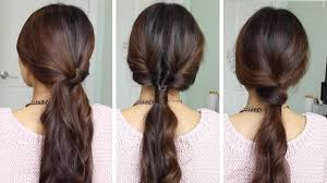 quick and easy hairstyles for running running late ponytail hairstyles hairstyles for long hair