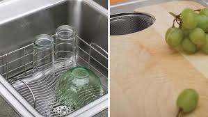 sink racks kitchen accessories innovative kitchen sinks interior design inspiration eva designs