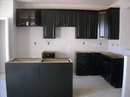 Espresso Kitchen Cabinets Amazing Espresso Kitchen Cabinets Escorted By Gray Mosaic Granite