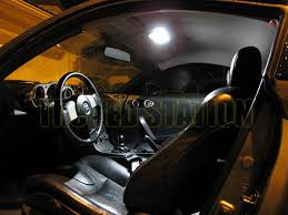 vehicle specific led interior lights kit led light bulbs nissan 350z