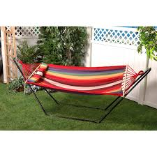Bliss Hammock Stand Bliss Hammocks Oversized Fabric Single Hammock With Spreader Bar