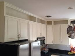 kitchen cabinets wall extension the look of custom in the blink of an eye kitchen soffit