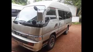 nissan urvan for sale nissan caravan van sale www adzking lk youtube
